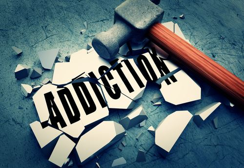 breaking addiction tile